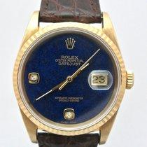 Rolex Datejust 16238 original Lapislazzuli dial with diamonds