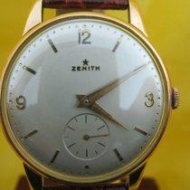 "Zenith rare ""little star"" oversize 18 kt rose gold mm36"