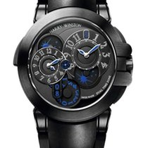 Harry Winston Ocean Dual Time Black Edition Zallium PVD...