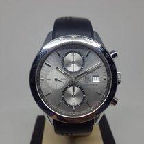 TAG Heuer Carrera Calibre 16 Chronograph CV2017 Silver Dial -...