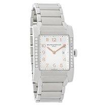 Baume & Mercier Hampton Ladies Diamond Swiss Quartz Watch...