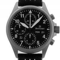 Damasko DC56 Si Stahl Automatik Chronograph Armband Kautschuk...