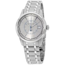 Hamilton Railroad Silver Dial Stainless Steel Mens Watch...