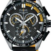 Pulsar Chrono PX7007X1 Herrenchronograph Mit Carboneinlage
