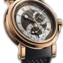 Breguet Marine Brown and Silver Dial Automatic Men's Watch
