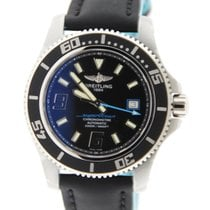 Breitling Superocean 44 Abyss Blue Stainless Steel