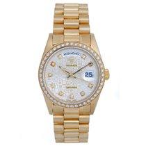 Ρολεξ (Rolex) President Day-Date Men's Yellow Gold Watch...