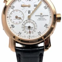 Vacheron Constantin Dual Time Regulator 18k Yellow Gold...