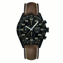 TAG Heuer Carrera Day Date Automatic Chronograph 43mm Mens...