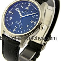 IWC IW325301 Pilots Mark xv Classic in Steel - on Black...