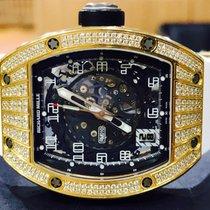 Richard Mille RM 010 Rose Gold Factory Richard Mille Diamonds