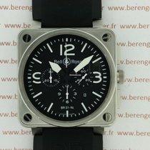 Bell & Ross BR01-94  Chronographe Steel.