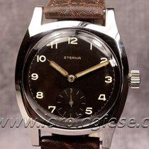 Eterna Tartarugone Vintage Military-style Steel Watch Cal. 852