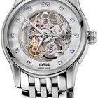 Oris Artelier Skeleton Diamonds Mens Watch