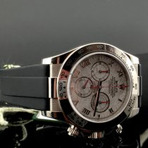 Rolex DAYTONA ORO BIANCO RUBBER DIAL METEORITE 116519