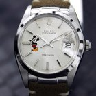 Rolex 6694 Oyster Date Precision Mickey Mouse Dial 1977 Ub932