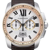 Cartier Calibre  Automatic Chronograph Date Mens W7100043