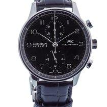 IWC Portoghese Cronografo In Acciaio Ref. Iw371447