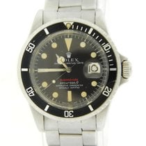 Rolex Red Submariner Tropical Dial MK2 Stainless Steel