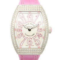 Franck Muller New  Vanguard Stainless Steel With Diamonds...