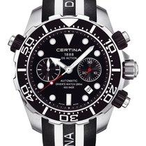 Certina DS Action Diver Chronograph Farbe Schwarz (Kautschuk)