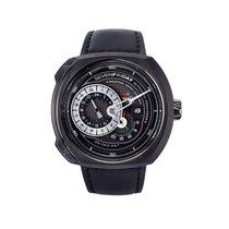 Sevenfriday Q-Series Q3/01 Men's Black Automatic Watch