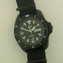 CWC Military S.B.S. Divers PVD steel quartz watch