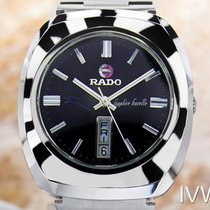 Rado Sapphire Gazelle Stainless Steel Automatic Watch 70's...