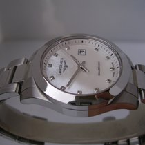 Longines Conquest Lady MOP & Diamonds Dial BOX & PAPERS
