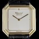 Chopard 18k Yellow Gold Cream Dial Gents Wristwatch 162...