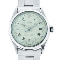 Rolex 1002 Oyster Perpetual Beige Roman Dial Steel Watch