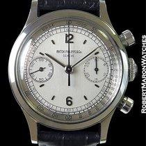 Patek Philippe 1463 Steel Waterproof Chronograph New Old Stock