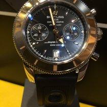 Breitling Superocean Heritage Chronograph 44 Gold Bezel Watc
