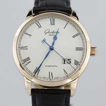 Glashütte Original 18k Rose Senator Pano Date W10003324504 New...