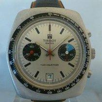 Tissot vintage 1975 chronograph navigator superb bi color dial...