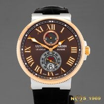 Ulysse Nardin Maxi Marine Chronometer 18K Rose Gold&SS...