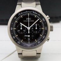 IWC GST Chronograph Quartz Black Dial Titanium