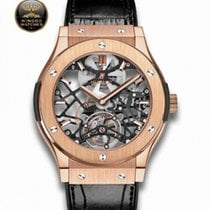 Hublot - Classic Fusion  Skeleton Tourbillon King Gold