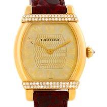 Cartier Tortue Chinoise Ladies 18k Yellow Gold Diamond Watch