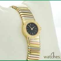 Bulgari Tubogas Lady 18 kt White & Yellow Gold 19 mm