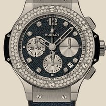 Hublot Big Bang Jeans Steel Diamonds
