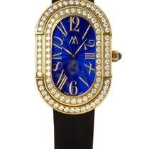 Richard Mille Marcus Watch Yellow Gold Diamond Bezel