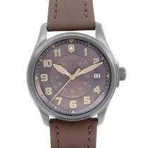 Victorinox Swiss Army Infantry Mens Stainless Steel Automatic...