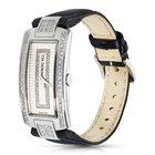 Raymond Weil Shine Stainless Steel Diamond Bezel Quartz Watch...