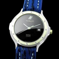 Hublot MDM Ladies Watch with Date - Stainless Steel & 18K...