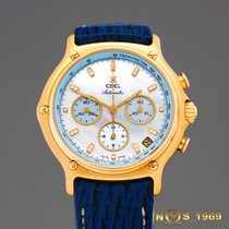 Ebel Chronograph 1911  18K Gold MOP DIAL WITH DIAMONDS...
