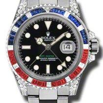 Rolex White Gold GMT ii 116759SARU
