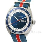 Hamilton Pan Europ Day Date Blue Dial Stainless Steel 42MM