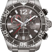 Certina DS Action C013.417.44.087.00 Herrenchronograph Sehr...