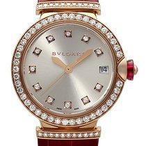Bulgari Lvcea Automatic Ladies 18 Carat Rose Gold Watch